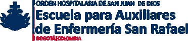 Escuela de Auxiliares de Enfermería San Rafael Logo