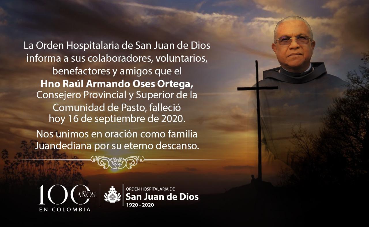 Orden Hospitalaria San Juan De Dios Orden Hospitalaria De San Juan De Dios Colombia